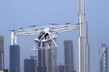 W Dubaju będzie można zamówić latającą taksówkę