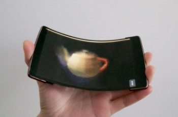 Wyginane smartfony z holograficznym ekranem