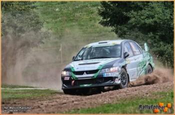 Załoga Samasz Rally Team na podium Mistrzostw Polski
