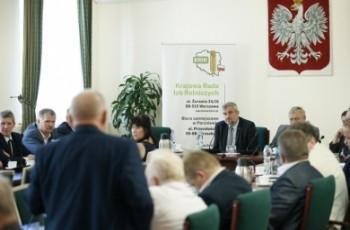 Spotkanie ministra rolnictwa z przedstawicielami KRIR