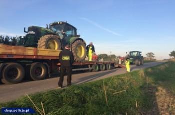 Kradli w UE ciągniki rolnicze i sprzedawali w Polsce -