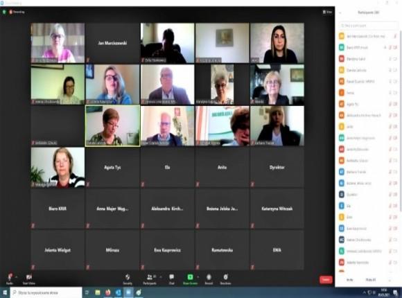 Posiedzenie Rady Kobiet on-line