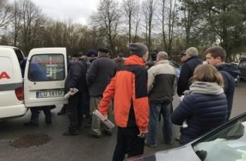 Gmina Rossosz - akcja wymiany osłon wałków przekaźnika